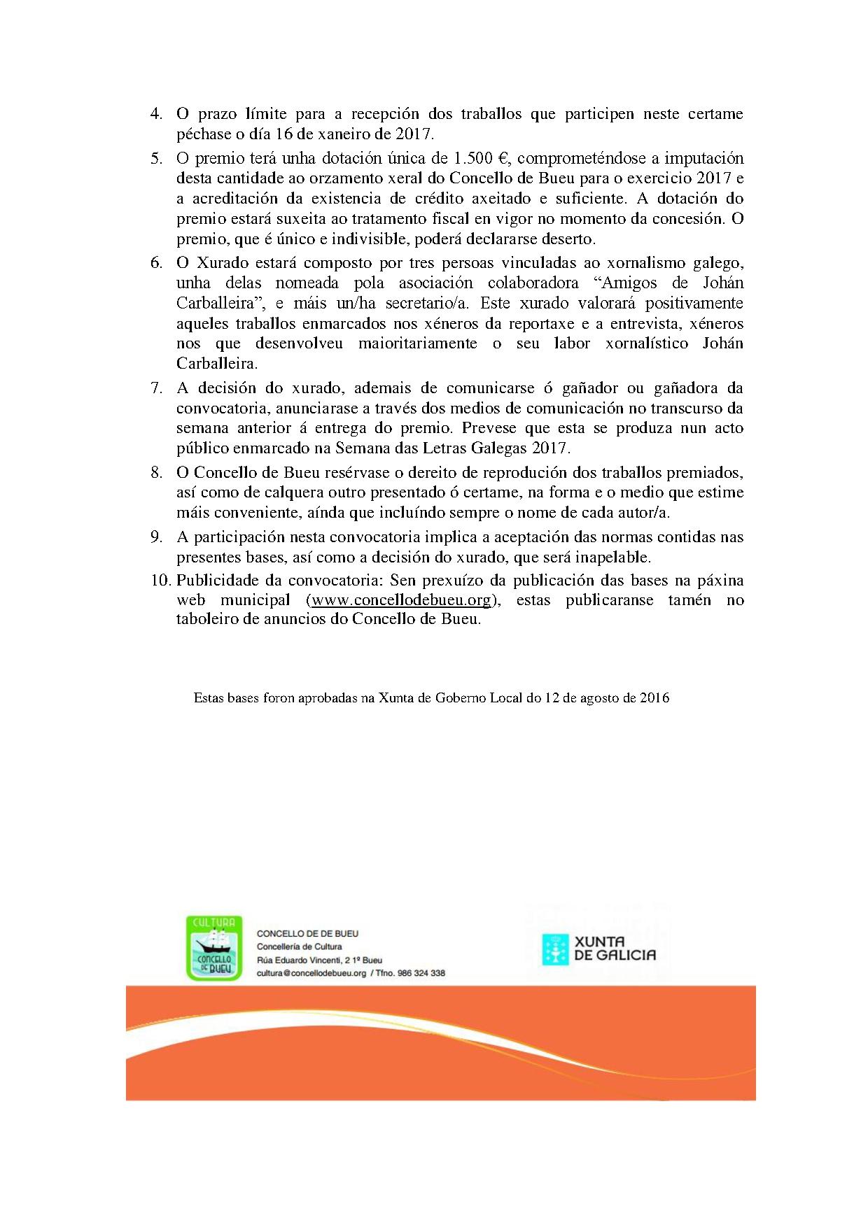Premio Johán Carballeira xornalismo 2016 2