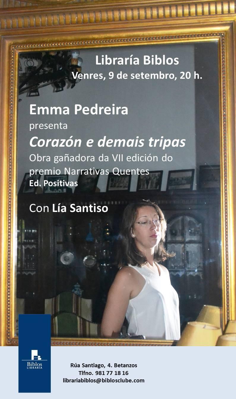 Cartaz Emma Pedreira