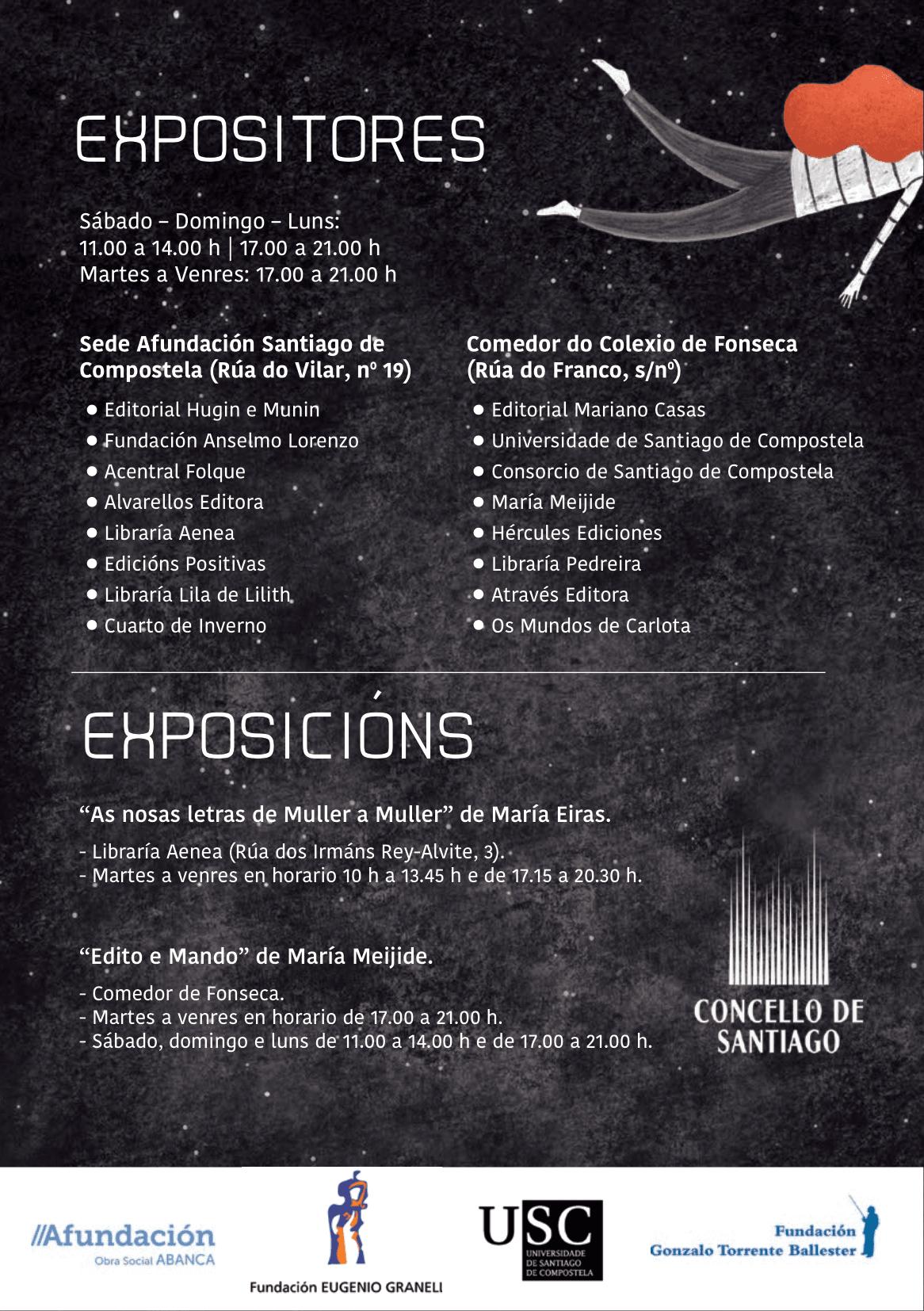 Actividades da Semana do Libro de Compostela (SELIC) 2020 ...